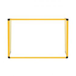 Bi-Office Trio Transparent Board 900x600/2 3mm Yellow GL07219401