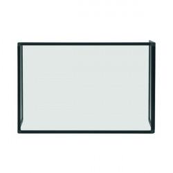 Bi-Office Trio Transparent Board 900x600/2 3mm Black GL07219001