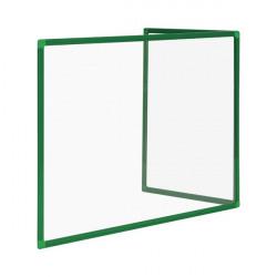 Bi-Office Duo Acrylic Board 900x600mm Maya Green Frame AC03209141