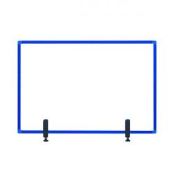 Bi-Office Protect Desktop Acrylic Board Blue Frame 1200x900 AC05019121