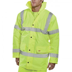 Constructor Jacket Saturn Yellow Medium (Conforms to EN ISO 20471 Class 3 visibility) CTJENGSYM