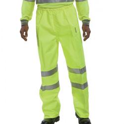 Hi-Viz Trousers EN ISO20471 S/Yellow Medium BITSYM