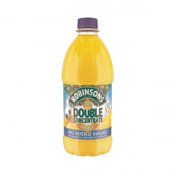 Robinsons Double Concentrate Orange Squash No Added Sugar 1.75 Litre (Pack of 2) 402046