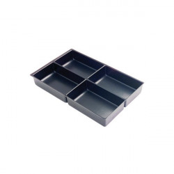 Bisley Multi Drawer Insert Tray Plastic 4 Compartments 227P5