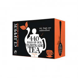 Clipper Fairtrade Everyday Tea Bags (Pack of 440) A06816