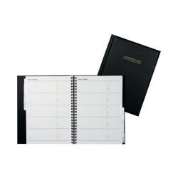 Collins Wirebound Business Address Book A5 Black BA5