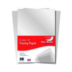 A4 Tracing Paper 10 Sheets (Pack of 10) OBS702