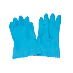 Rubber Gloves Medium Blue (Pack of 12) 803191