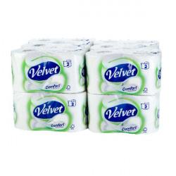 Velvet Comfort Toilet Roll (Pack of 24) 1102088