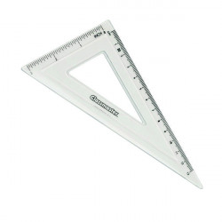 Classmaster 60 Degree Set Square Clear (Pack of 30) S60/30