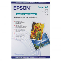 Epson A3 Plus Matte Archival Paper 192gsm (Pack of 50) C13S041340