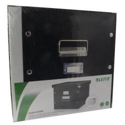 Leitz Click and Store Suspension File Storage Box A4 Black 60460095