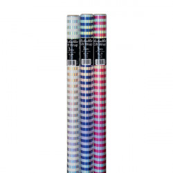Assorted Striped Foil Gift Wrap (Pack of 36) 26310-GW