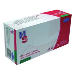 Handsafe Powdered Latex Gloves Medium Natural (Pack of 100) GN03