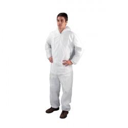 Non-Woven Coverall Medium 40-44 Inch White DC03