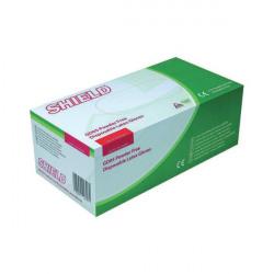 Shield P/F Latex Gloves Medium (Pack of 1000) HEA00399