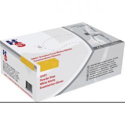 Handsafe Nitrile Powder-Free Gloves Small White (Pack of 2000) GN92S