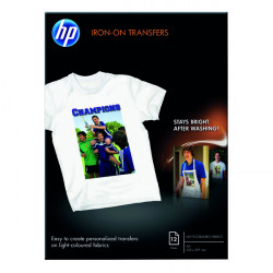 HP Iron-On A4 Transfer 170gsm (Pack of 12) C6050A