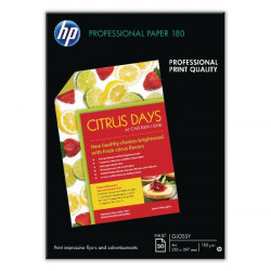 HP Professional Glossy Inkjet A3 Paper (Pack of 50) C6821A