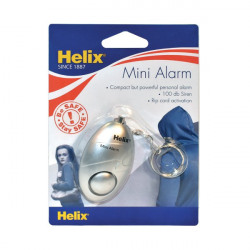 Helix Mini Personal Alarm Silver PS1070