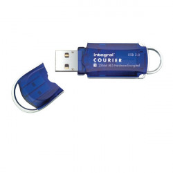 Integral Courier Encrypted USB 3.0 16GB Flash Drive INFD16GCOU3.0-197