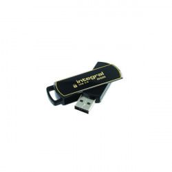 Integral Secure 360 Encrypted USB 3.0 8GB Flash Drive INFD8GB360SEC3.0