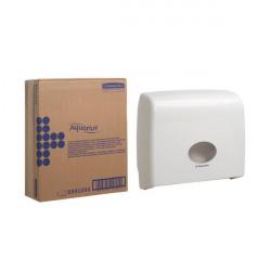 Aquarius Ripple Midi Jumbo Non-Stop Toilet Tissue Dispenser White 6991