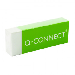 Q-Connect Plastic Eraser White (Pack of 20) KF00236