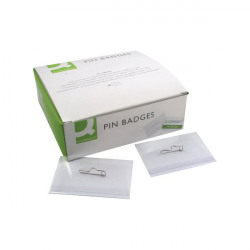 Q-Connect Pin Badge 54x90mm (Pack of 50) KF01564