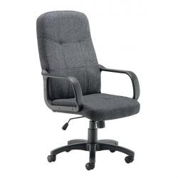 Arista Franca High Back Executive Chair 700x660x1180mm Charcoal KF50161