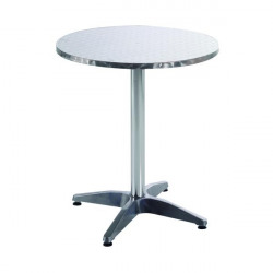 Arista Aluminium Table (W600 x D600 x H700mm) KF73901