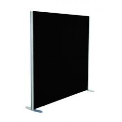 Jemini Black 1200x1600 Floor Standing Screen Including Feet KF74327