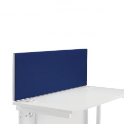 First Desk Mounted Screen 1200x25x400mm Special Blue KF74836