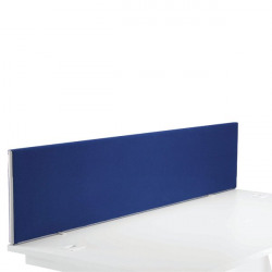 First Desk Mounted Screen H400 x W1800 Special Blue KF74842
