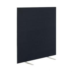 Jemini Black 1800x1600mm Floor Standing Screen KF79015