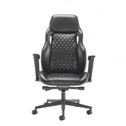 Arista Svelto Leather Look Executive Chair Black KF79130