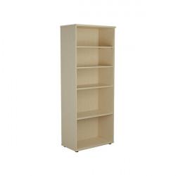 Jemini 2000 Wooden Bookcase 450mm Depth Maple KF811176