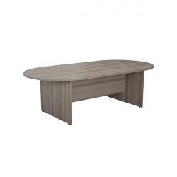 Jemini 2400mm Meeting Table Grey Oak KF840160