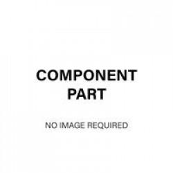 Jemini Return Screen Clamp LH Brackets (Single) White COVRTLHBKTWH