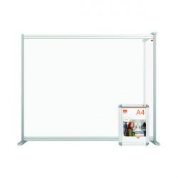 Jemini Acrylic Modular DeskDivider Extension 1200x1000mm Clear KF90379