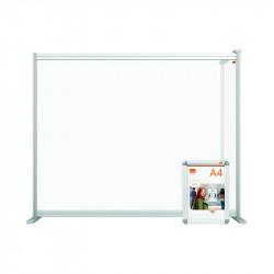 Nobo Modular Desk Divider Extension Acrylic 1200x50x50mm Clear KF90378