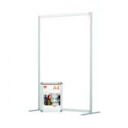 Jemini Acrylic Modular Room Divider 1200 x 1800mm Clear KF90383