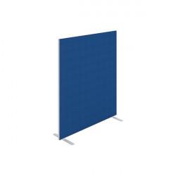 Jemini Floor Standing Screen 1400x25x1600mm Blue KF90498