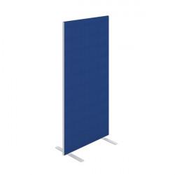 Jemini Floor Standing Screen 800x25x1600mm Blue KF90693