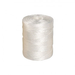Flexocare Polypropylene Twine 1 kg White (Durable and strong designed not to fray) 77656008