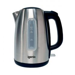 Igenix 1.7 Litre Jug Kettle Brushed Stainless Steel IG7731