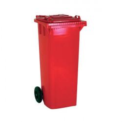 Wheelie Bin 360 Litre Red (W620 x D860 x H1070mm) 331226