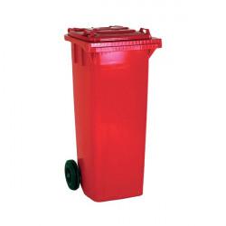Wheelie Bin 80 Litre Red (W445 x D525 x H930mm, made from UV stabilised polyethylene) 331270
