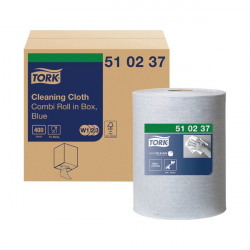 Tork Multi Purpose Cloth Combi Roll 152m Blue 510237