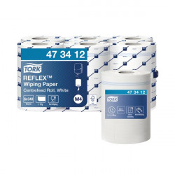 Tork Reflex M4 Centrefeed Wiping Paper 1-Ply 114m (Pack of 6) 473412
